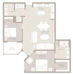 Bimini Floor Plan at Berkshire Lauderdale by the Sea, Ft. Lauderdale, FL, 33308