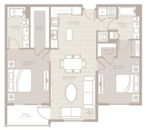 Cay Floor Plan at Berkshire Lauderdale by the Sea, Florida, 33308