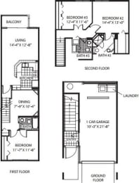 Floor Plan Bridgehampton