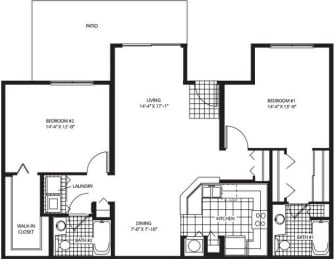 Floor Plan Middleburg