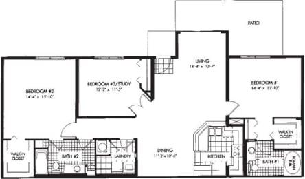 Floor Plan Potomac