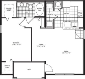 Floor Plan Upperville