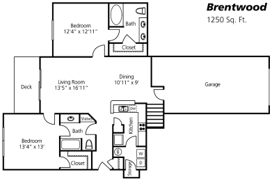 Brentwood Floor Plan at Wyndchase at Aspen Grove, Franklin, 37067