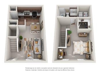 Floor Plan A1-A