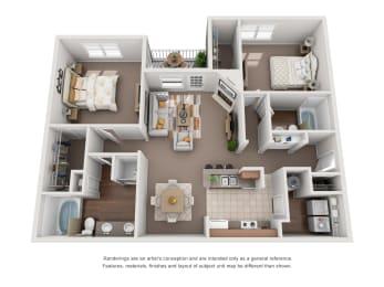 Floor Plan B3G