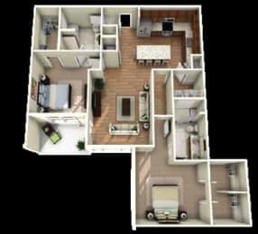 Ballantyne Floor Plan at Berkshire Main Street, Durham