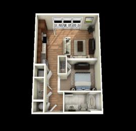 Umstead Floor Plan at Berkshire Main Street, North Carolina, 27705