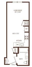 A0 floorplan