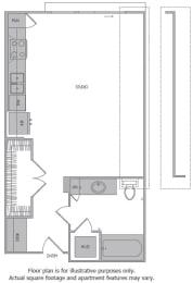 Floor Plan  Floorplan at 1000 Grand by Windsor