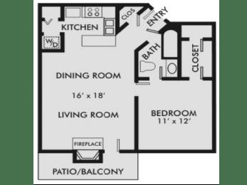 Floor Plan Columbiana 1-1