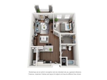 Floor Plan A2 Premium