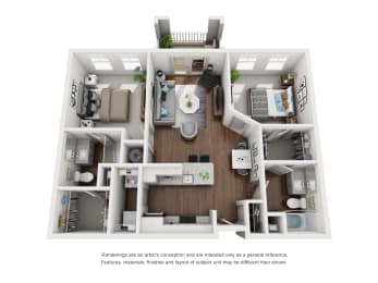 Floor Plan B1 Premium