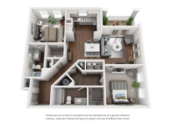 Floor Plan B4 Premium