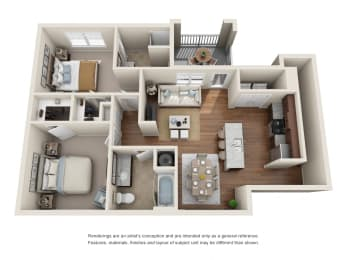 Floor Plan B1S - Churchill with Garage