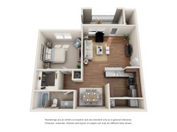 Floor Plan A1 - Remington