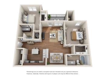 Floor Plan B2G - Saratoga with Garage