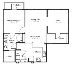 Floor Plan 5A5S