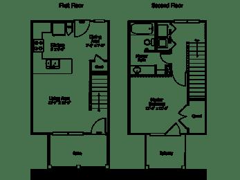 Floor Plan 3THA1