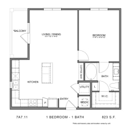 Floor Plan STAG'S LEAP 7A7.11