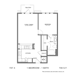 Floor Plan STAG'S LEAP 7A7.3