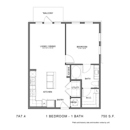 Floor Plan STAG'S LEAP 7A7.4