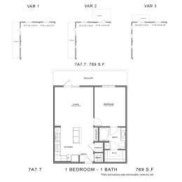 Floor Plan STAG'S LEAP 7A7.7