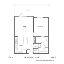 Floor Plan STAG'S LEAP 7A7.9