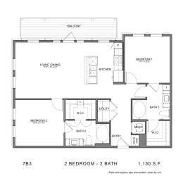 Floor Plan STAG'S LEAP 7B3