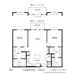 Floor Plan STAG'S LEAP 8B2