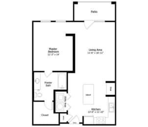 Floor Plan 3A4