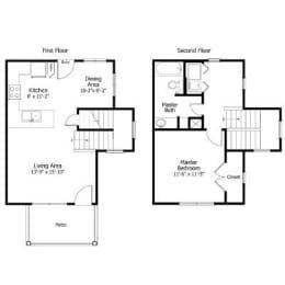 Floor Plan 3THA1.2