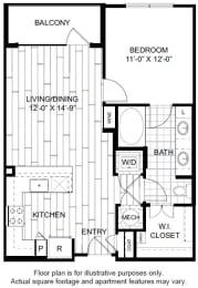 Floor Plan  A4 Floor Plan at Windsor CityLine