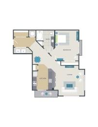 Floor plan at 712 Tucker, Raleigh