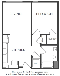 Floor Plan  A8 Floor Plan at Mission Bay by Windsor