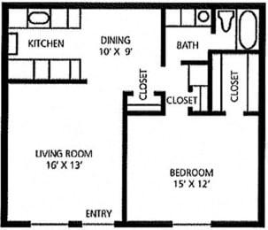 Juniper Springs Concierge Community Honeysuckle floor plan at Juniper Springs A Concierge Community, Austin, TX