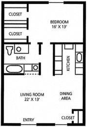 Juniper Springs Concierge Community Sunflower floor plan at Juniper Springs A Concierge Community, Austin, TX