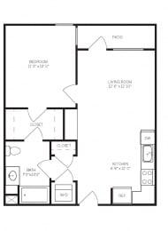 Floor Plans A5 at AVE Walnut Creek, California