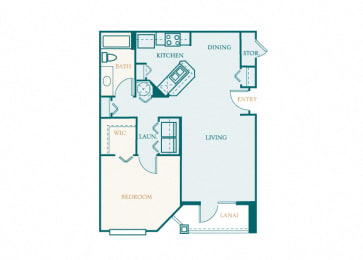 Versant Place - A2 - Amaryllis - 1 bed - 1 bath