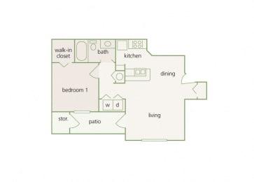 Park Del Mar - A1 - Raphael - 1 bedroom - 1 bathroom