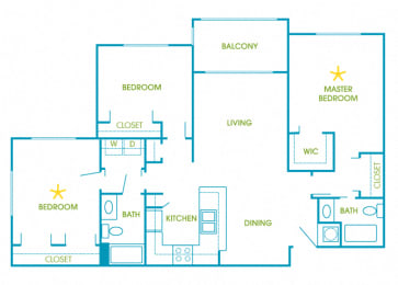 La Costa - C1 - Portofino - 3 bedroom - 2 bath
