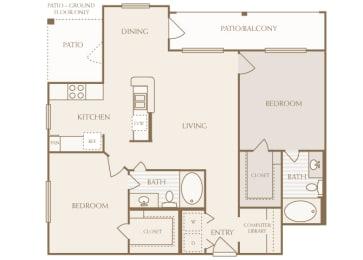 Lodge at Cypresswood - B2 - 2 bedrooms - 2 bath