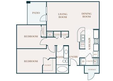 Delayne 2D floor plan B1