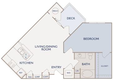 A3 Amber floor plan