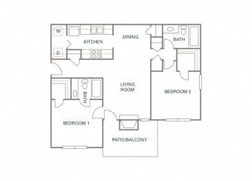 Littlestone of Village Green - The Davenshire - 2 bedroom - 2 bath