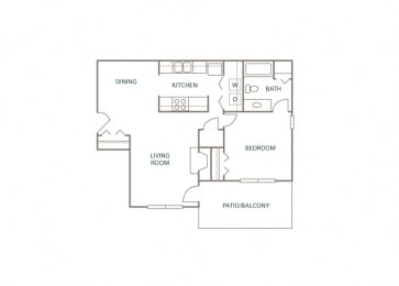 Littlestone of Village Green - The Wesmoore - 1 bedroom - 1 bath