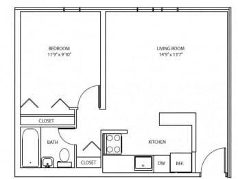 Floor Plan ROTTERDAM