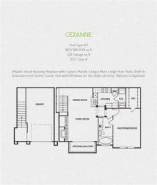 cezanne round rock luxury apartments, Round Tock 78681