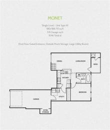 monet round rock luxury apartments, TX 78681