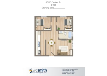 625-Square-Foot-Two-Bedroom-Apartment-Floorplan-Available-For-Rent-Alpha-House