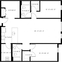 Atlas 2C-1 Floor Plan